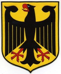 Bundeswappen Deutschlands - Aufnäher