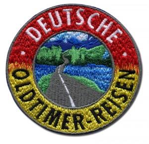 Deutsche Oldtimer-Reisen Aufnäger
