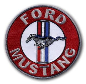 Aufnäher von Ford-Mustang