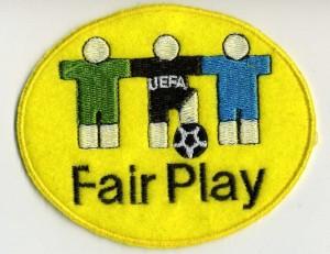 Fair-Play-Aufnäher