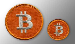 Bitcoin Gestickter Aufnäher